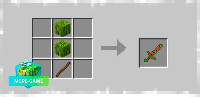 Рецепт крафта арбузного меча