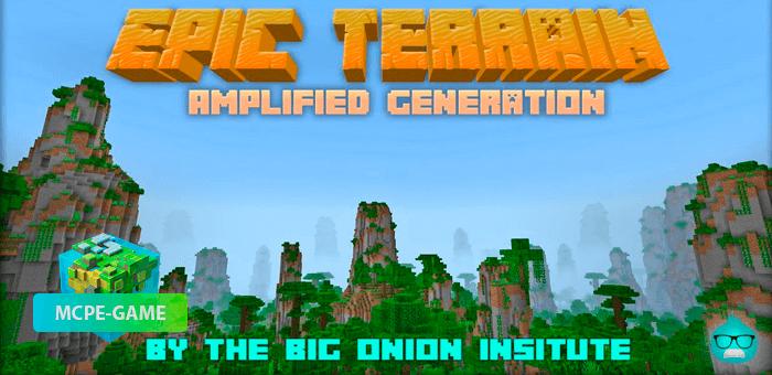 Epic Terrain — Мод на красивую генерацию мира