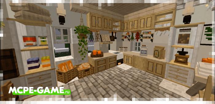 Ghoulcraft BE — Мод на большое число декора и мебели