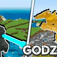Godzilla King — Мод на Годзиллу и других мутантов