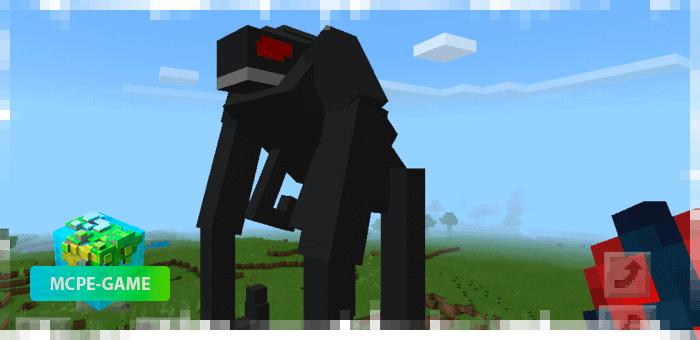 М.У.Т.О из мода на мутантов Godzilla King для Minecraft PE