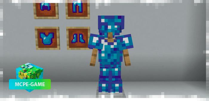 Новая броня из мода на данжи Mo'Dungeons