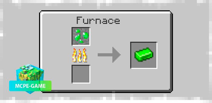 Переплавка урановой руды в слитки из мода More Metals