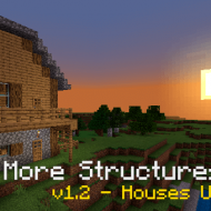 More Structures — Мод на генерацию построек в мире игры
