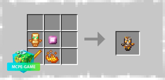 Огненный тотем из мода Potopo: More Totems