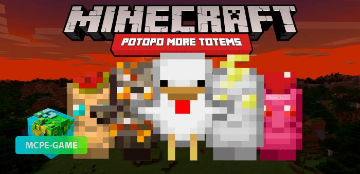 Potopo: More Totems — Мод на новые тотемы