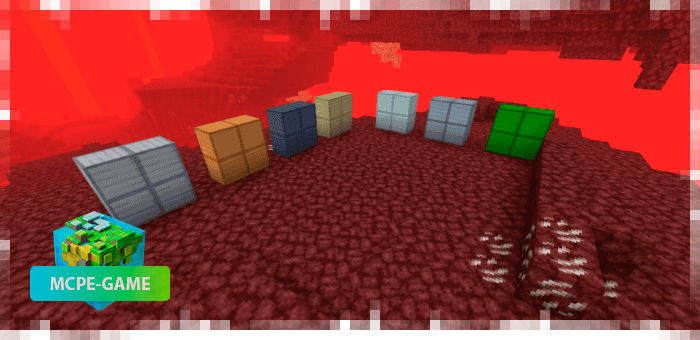 New blocks from Nether Ores for Minecraft PE