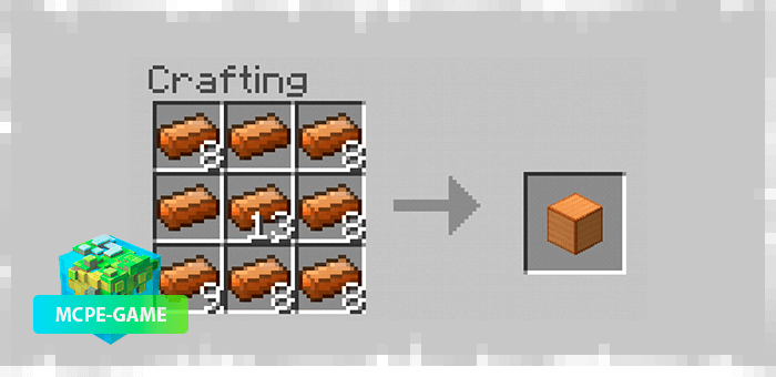 Recipe for Nether Ores Block Crafting for Minecraft PE