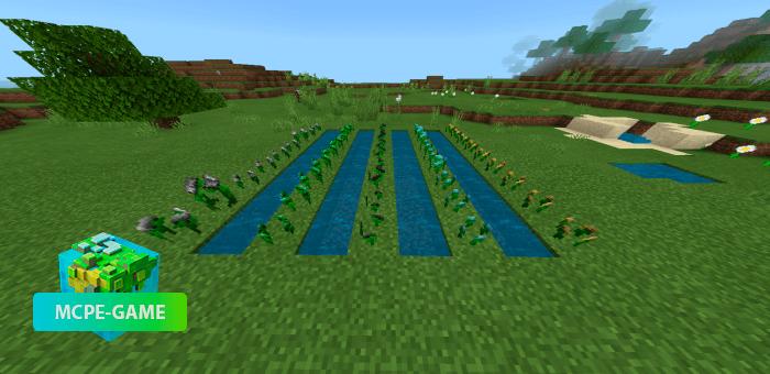 Ore Crops — Мод на выращивание руды из семян