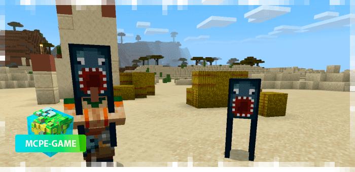 Кальмар-убийца паук из мода Oxi! для Minecraft PE