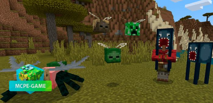 Oxi! — Ужасные монстры и мутанты