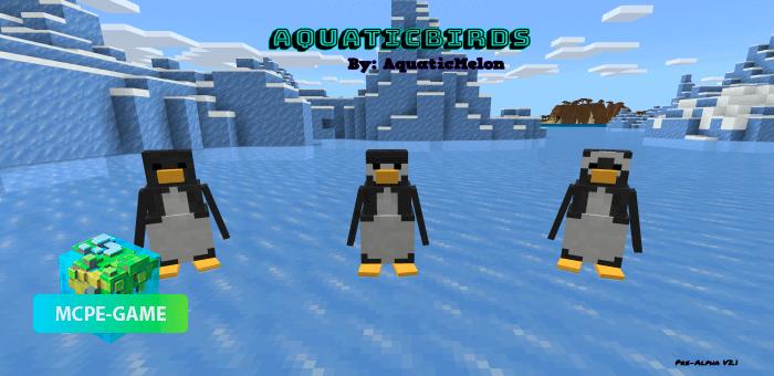 AquaticBirds — Мод на пингвинов