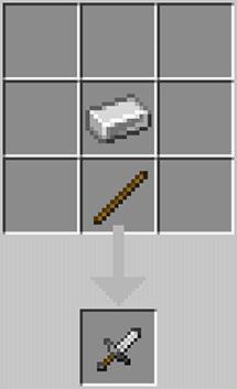 Короткий металлический клинок