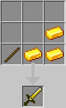 The new golden sword