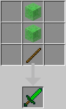 The slime sword