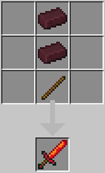 A sword made of hell's bricks