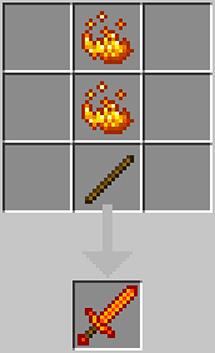 Sword of fire powder