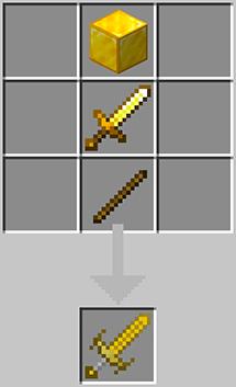 Level II Gold Sword