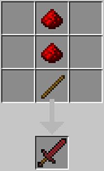 Редстоуновый меч