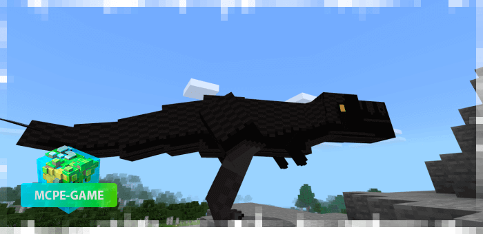 Tyrannosaurs from the Prehistoric Rift mod in Minecraft PE
