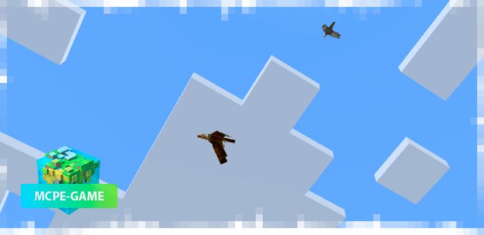 Стервятник из мода на птиц Sky Update