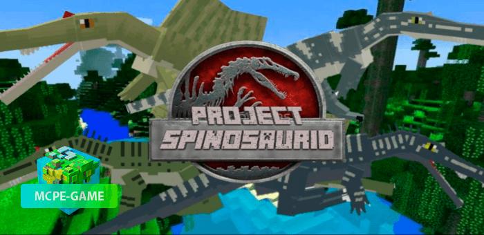 Project Spinosaurid — Мод на спинозавров