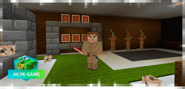 Star Wars Laser Swords in Minecraft PE