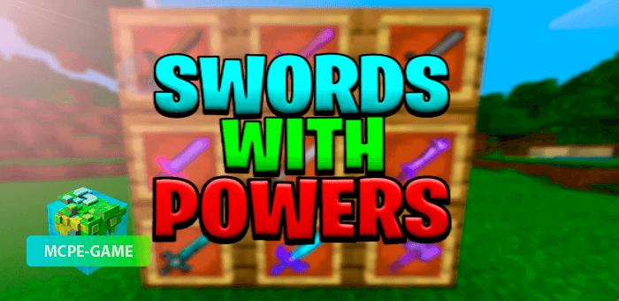 Upgradeable Super Swords with Powers — Мод на улучшение и усиление мечей