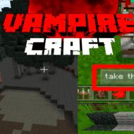 Vampire Craft — Мод на превращение в вампира