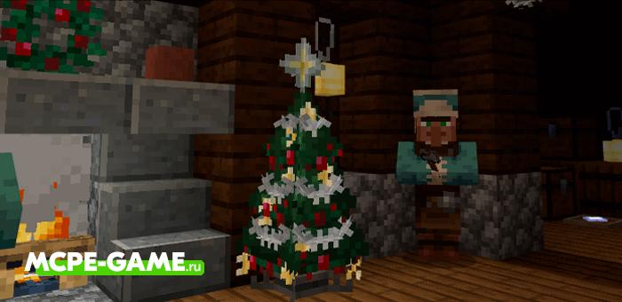Vanilla Holiday — Мод на рождественские украшения для елки