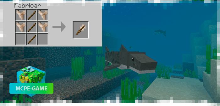 Рецепт крафта меча из зубов акулы