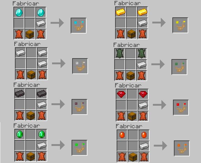 Рецепт крафта брони для страусов