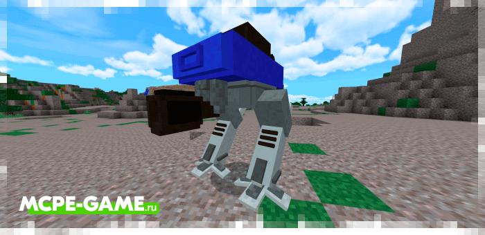 Battlebots — Мод на боевых роботов Титанов