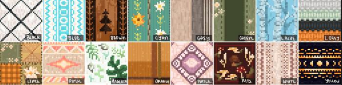 Nox's Better Carpets — Мод на красивые ковры в Майнкрафт
