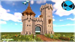 Видео-урок по постройке ворот для замка в Майнкрафт