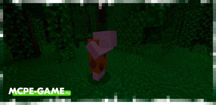 Sleeping savages from the Caveman Buddy caveman mod in Minecraft