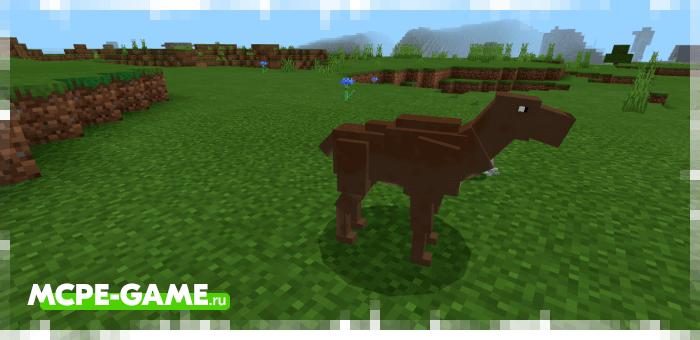Лань из мода The Crafting Dead для Minecraft