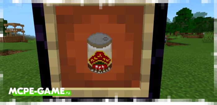 Еда из мода The Crafting Dead для Minecraft
