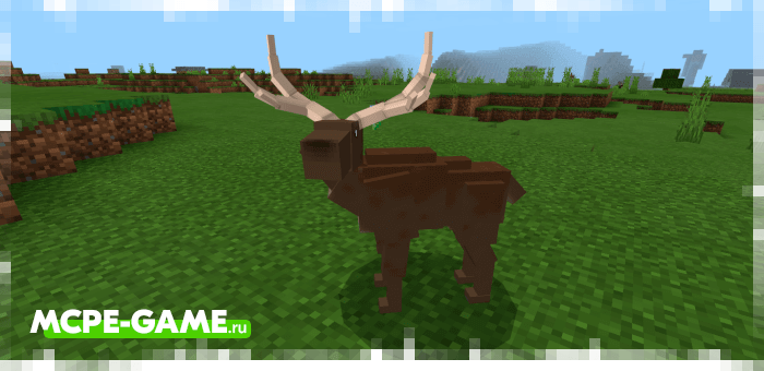 Олень из мода The Crafting Dead для Minecraft