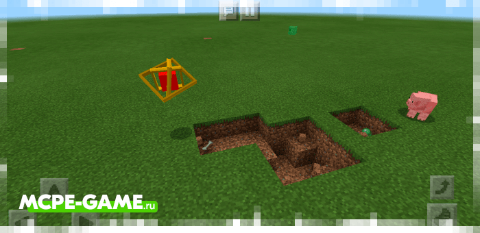 Огненная сфера из мода Cubes Of Magic для Майнкрафт