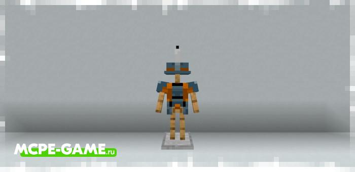 Новая броня из обновленной версии мода Minecraft Dungeons Armor для Minecraft Bedrock Edition