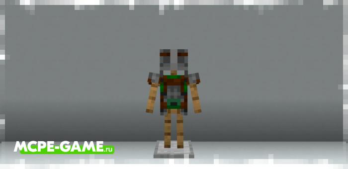 Minecraft Dungeons Armor — Броня из RPG-версии Майнкрафт Данжен