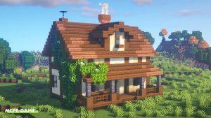 Видео-урок по постройке сельского дома в Майнкрафт