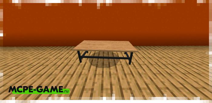 Журнальный стол из мода на мебель для гостиной комнаты Furniture Pack: Living Room