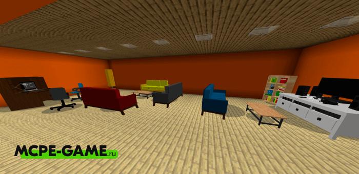 Furniture Pack: Living Room — Мод на мебель для гостиной комнаты