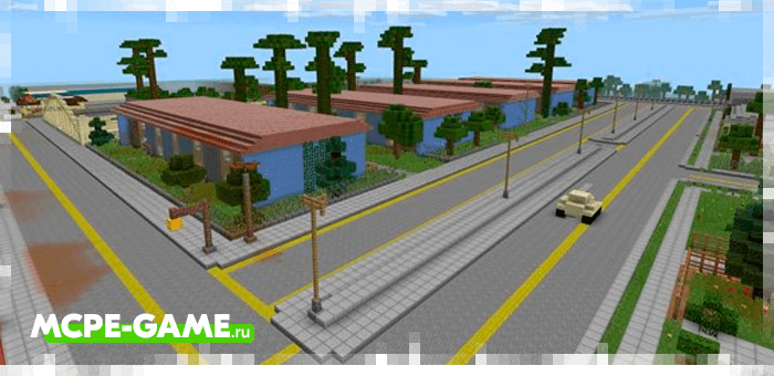 GTA San Andreas — Карта с миром из ГТА Сан Андреас для Майнкрафт