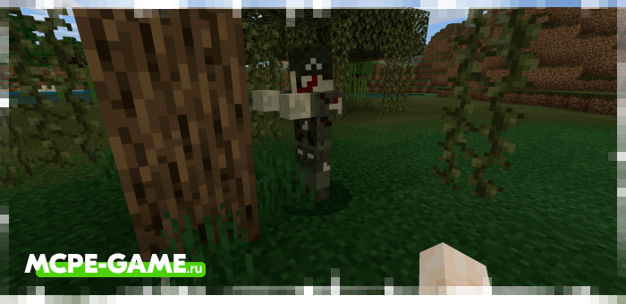Военный зомби из мода Improved Zombies на Майнкрафт ПЕ