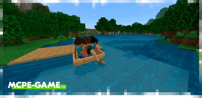 ItsDandD's Boat — Мод на многоместные лодки