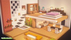 Видео по постройке современного и просторного дома в Майнкрафт
