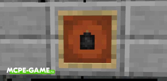 Старинная бомба из мода More TNT на Майнкрафт
